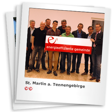 e5-Team St. Martin am Tennengebirge. Bildquelle: St. Martin am Tennengebirge